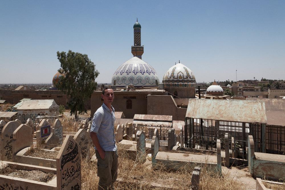 vue sur Tekyai Talabani