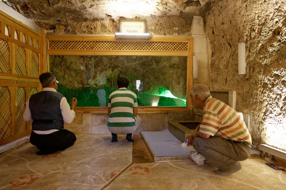 La cave d'Abraham, lieu supposé de sa naissance