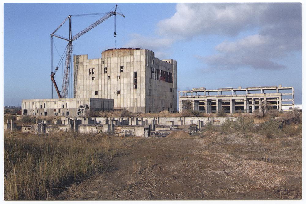 Centrale Nucléaire de Crimée - Shcholkine, Crimée, 2011