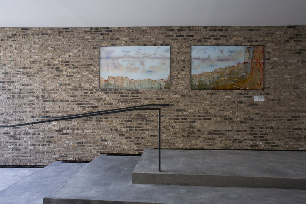 Perspective 18  - dans le cadre d'1 immeuble, 1 œuvre - St Denis - 1 ex + 1 EA - 2018 - photo © Charlotte Donker-Toscan - 2018