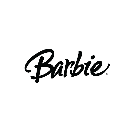 Barbie logo design/lettering