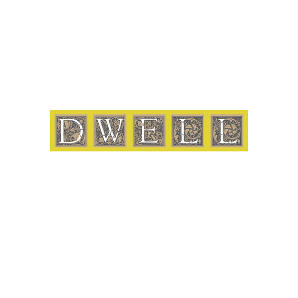 DWELL logo design