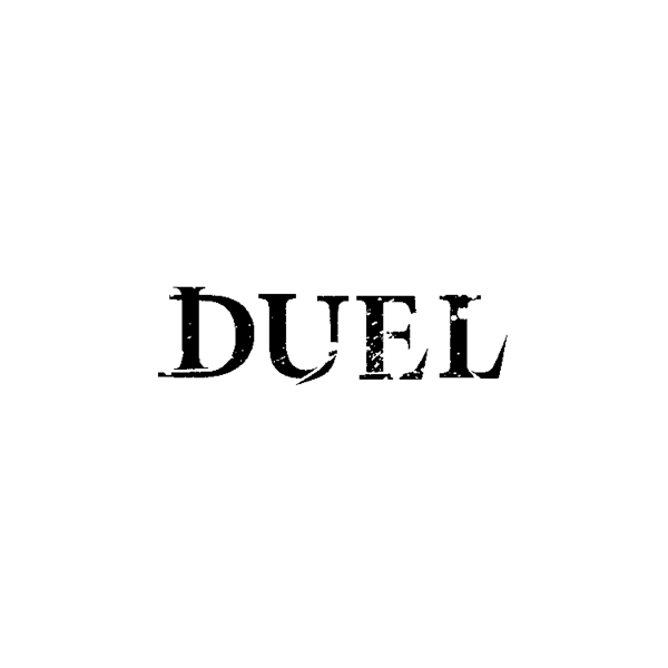 Duel lettering sketch