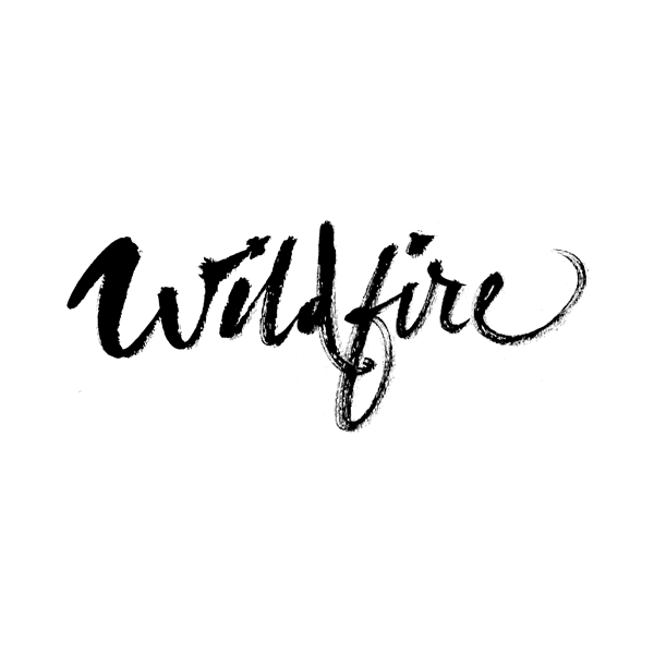 Wildfire logo/lettering