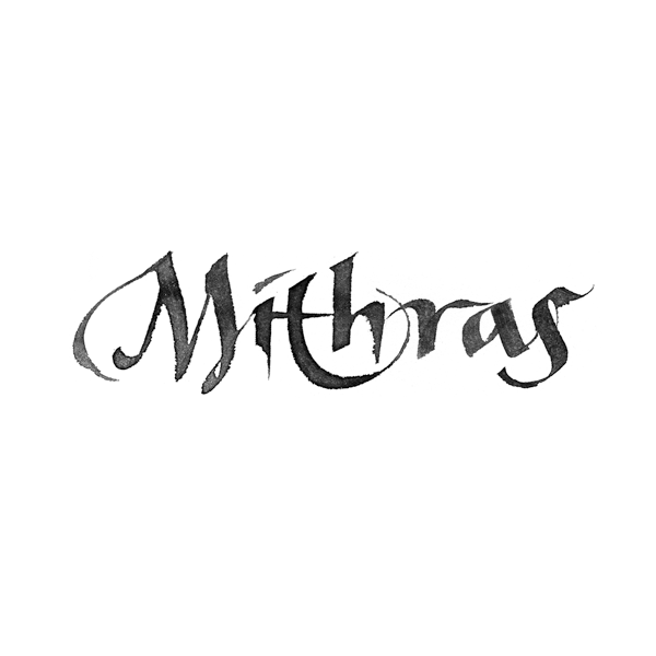 Mithras logo/lettering