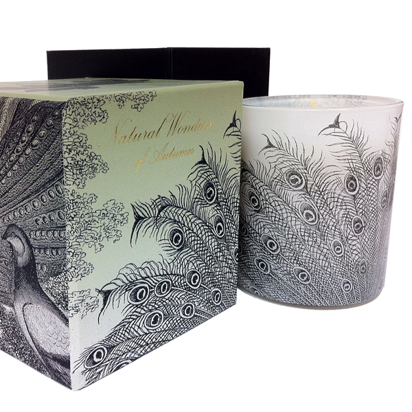"""Natural Wonders of Autumn"" scented candle"