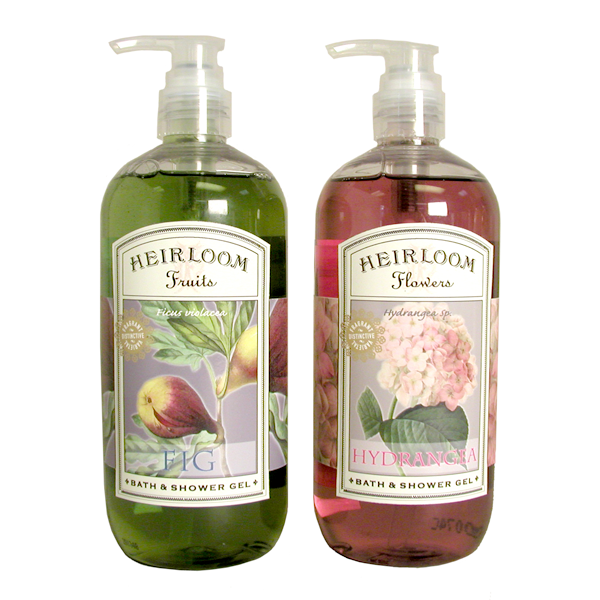 """Heirloom Fruits/Flowers"" liquid soap"