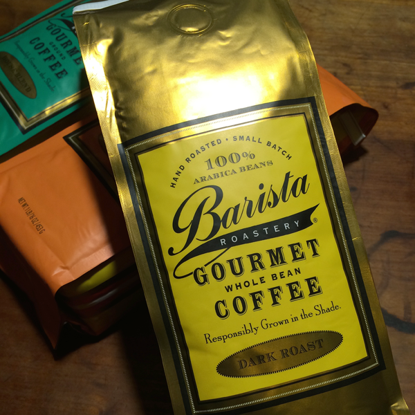 """Barista Roastery"" gourmet coffee"