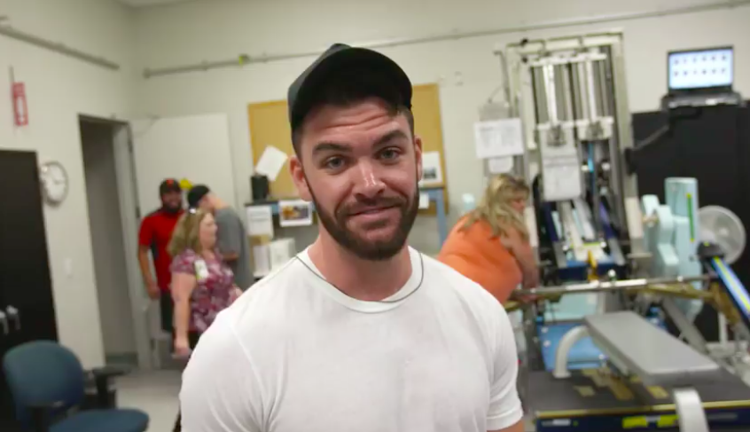 CMT: Dylan Scott Becomes an Astronaut for the Day