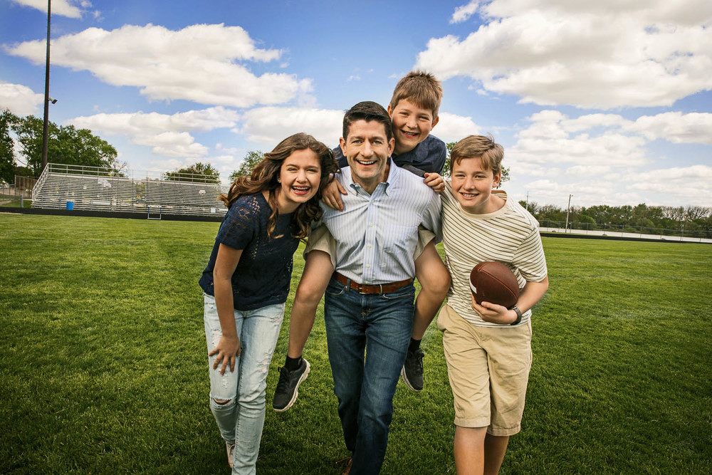 Paul Ryan & Family