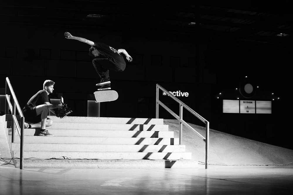 Tyson Bowerbank Almost Skateboards - The Berrics Recruit 7