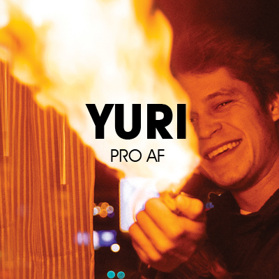 Yuri Pro AF video Almost skateboards
