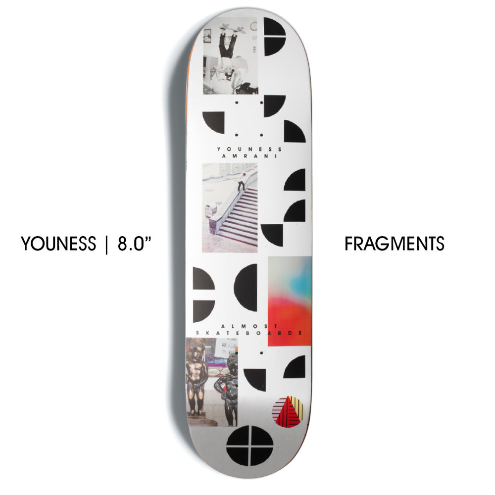 Almost Youness Fragments 8.375 R7 Skateboard Deck