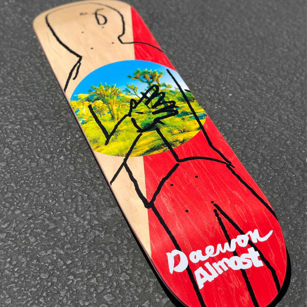 Almost Daewon Diagonal R7 Skateboard Deck
