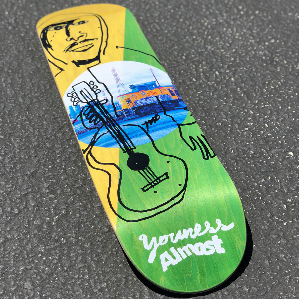 Almost Youness Diagonal R7 Skateboard Deck