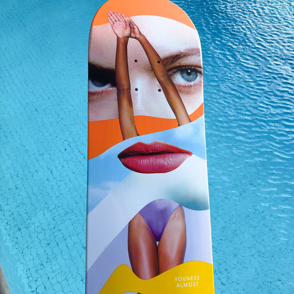Almost Skateboards girls deck youness