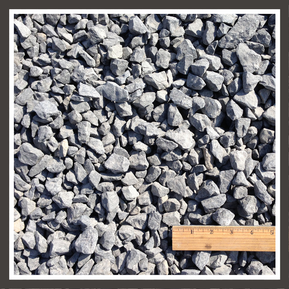 Crushed Rock Types : The driveway stones average inches or less in size