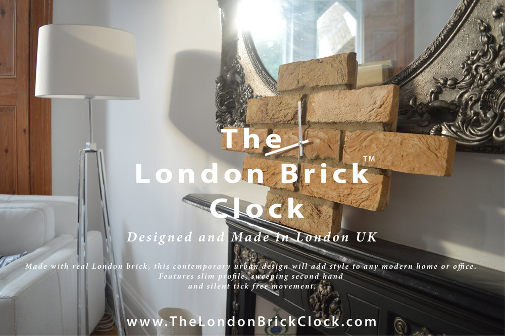The London Brick Clock