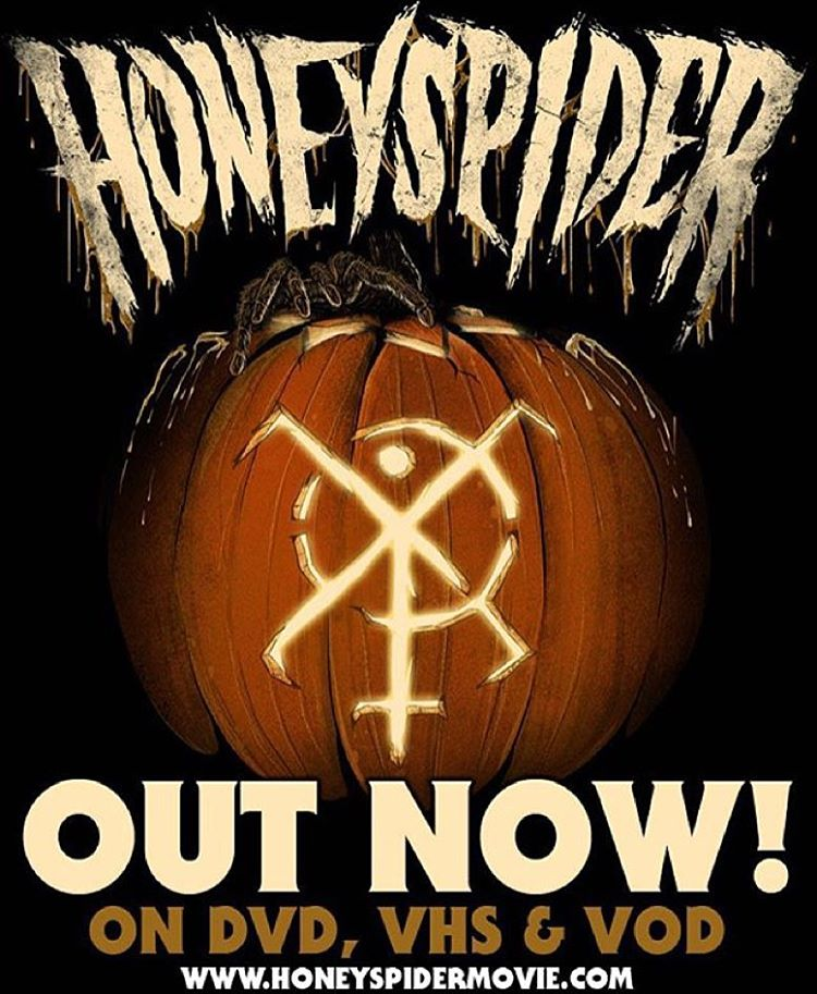 The Honeyspider movie (which features 2 of our songs is now available for order a VOD. Go to Honeyspidermovie.com for more info!