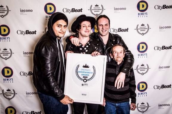 We had a great time at the Cincinnati Entertainment Awards. We managed to win the nomination for Best New Artist. Thanks to Citybeat and to you for your support!