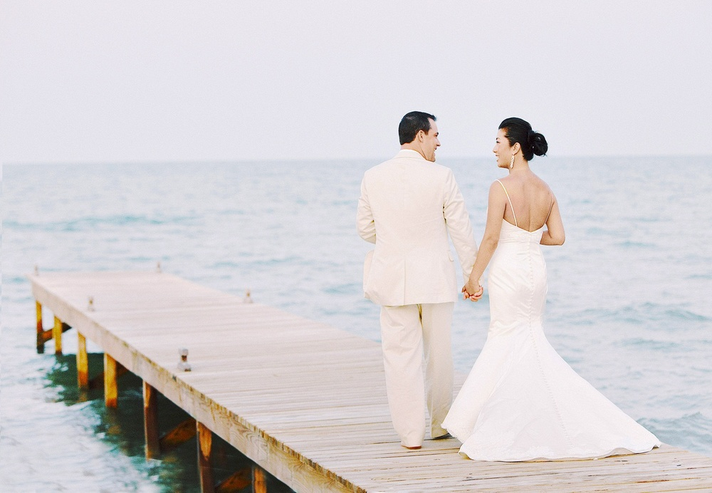 5743766baf6 Belize Beach Wedding — Fine Art Film Photographer - Blaine Siesser -