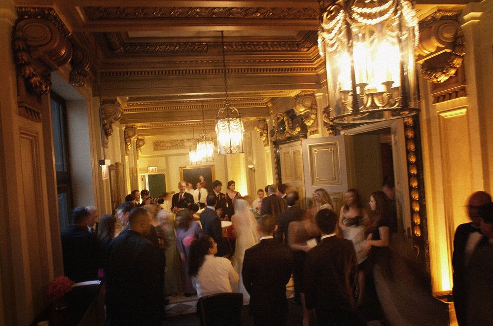 The Reception - One Word. Elegant.