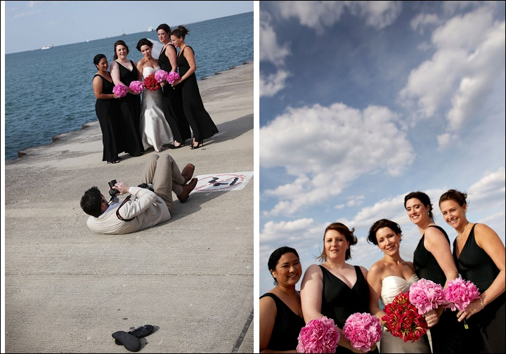 Photo 101: Lesson 1: How to photograph Bridesmaids from the ground.
