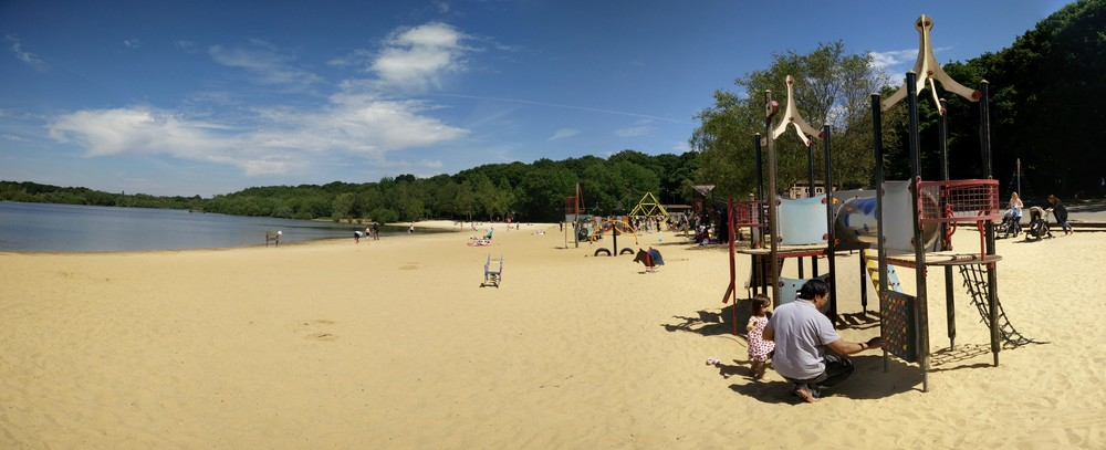Ruislip Lido in June 2015 #nofilter
