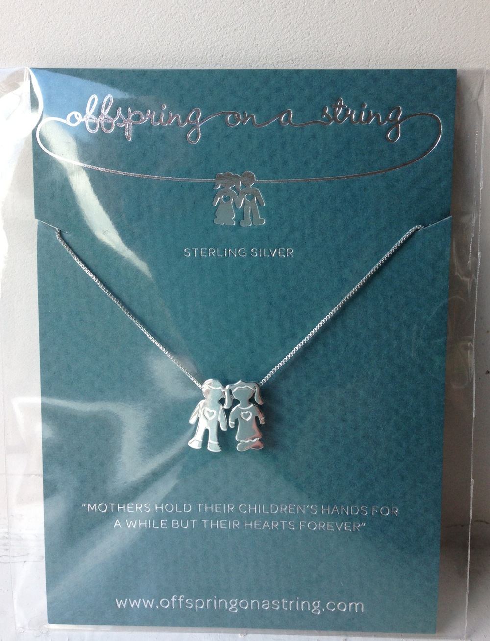 offspring on a string necklace hampstead mums