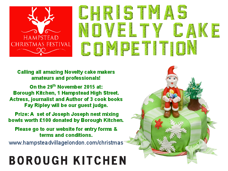 Hampstead Mums Christmas Novelty Cake Competition