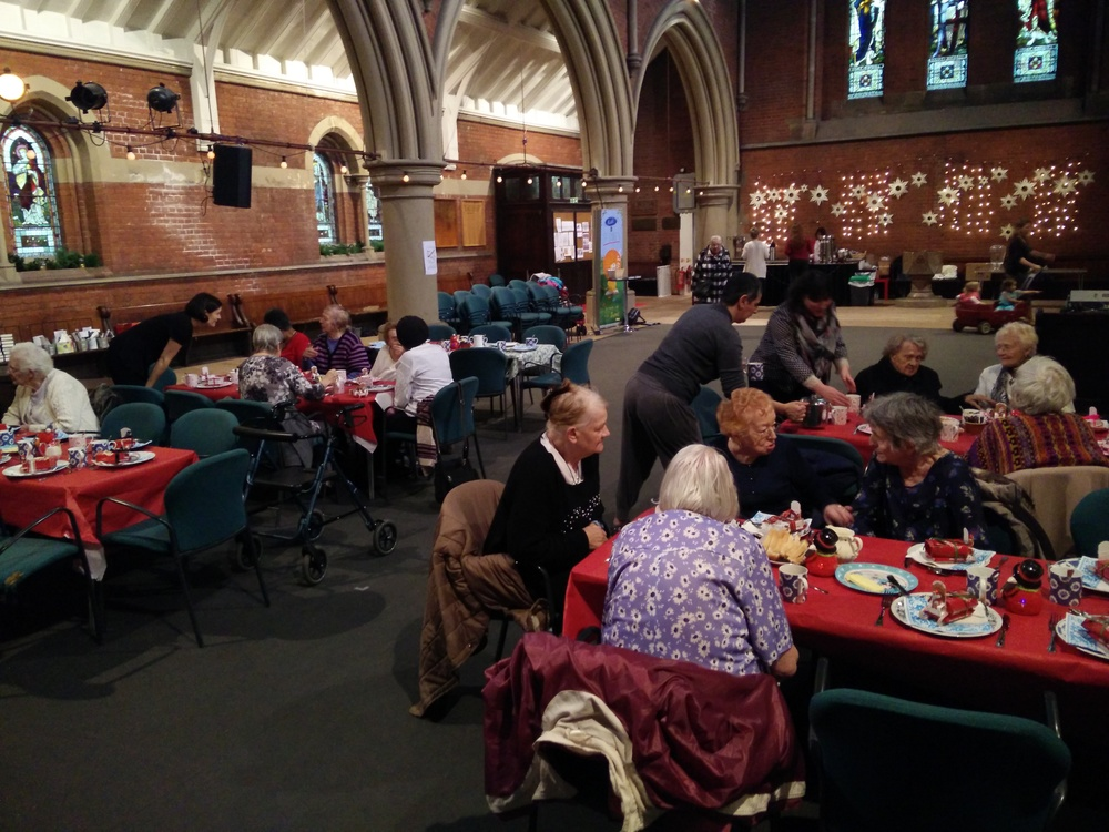 st lukes kentish town hampstead mums christmas