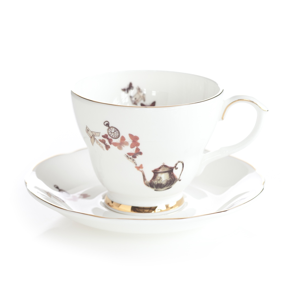 Ali Miller Alice Tea Cup and Saucer Hampstead Mums