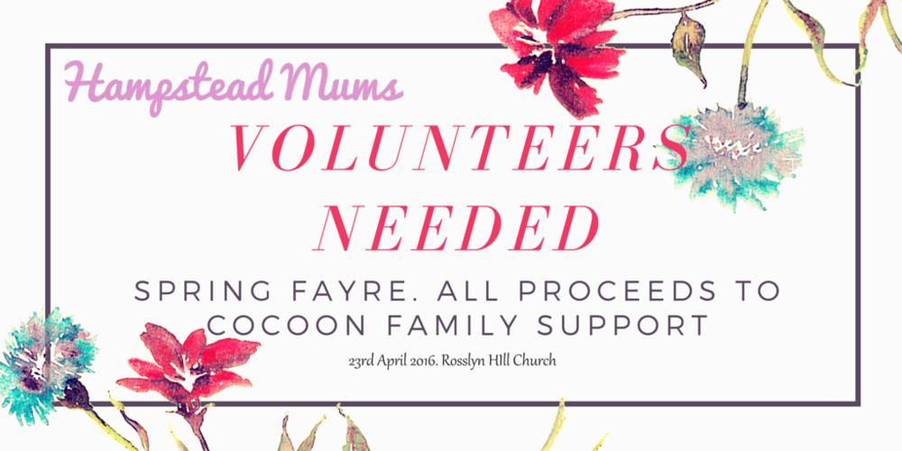 cocoon family support hampstead mums spring fayre