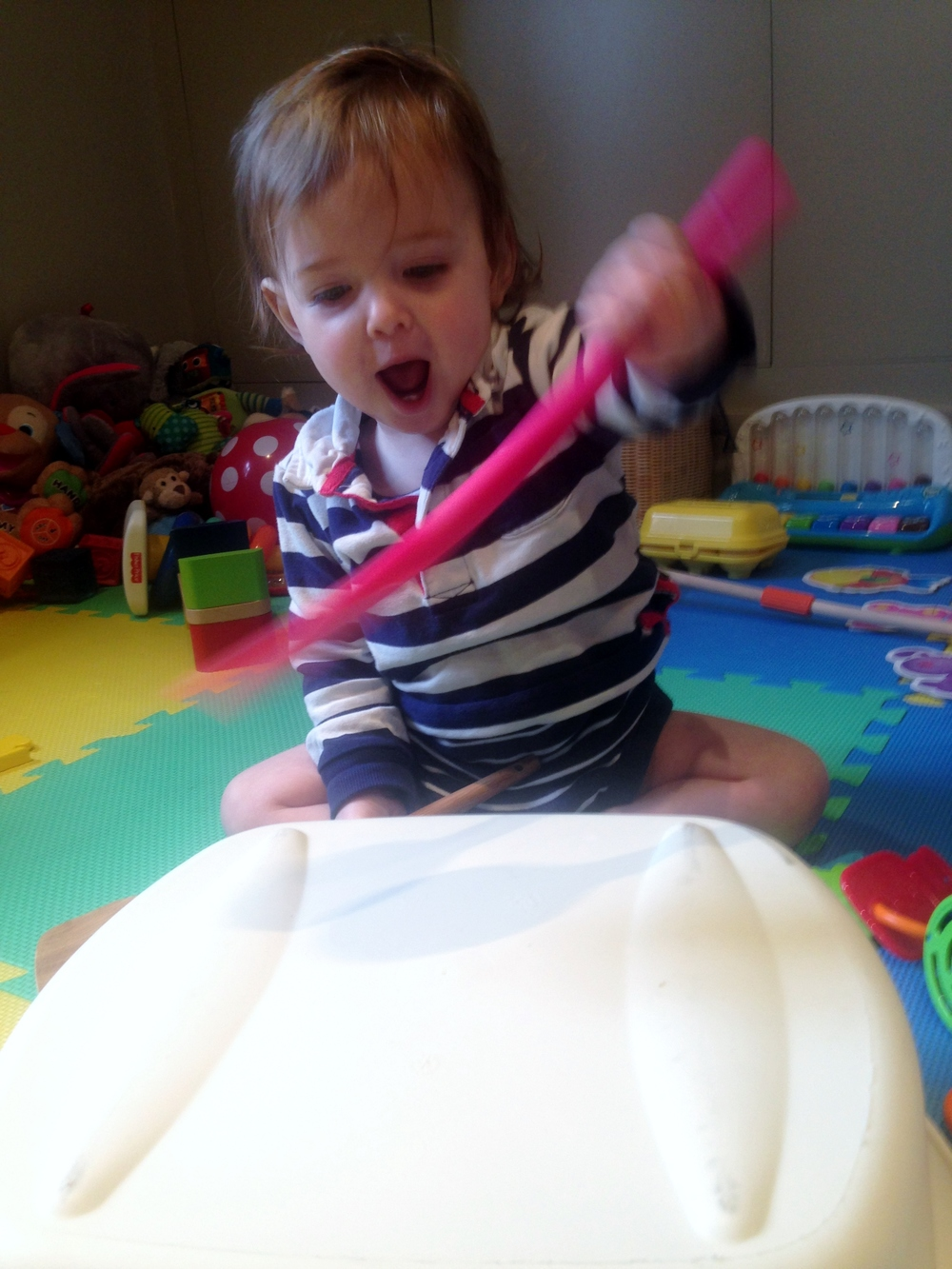 bowl noise toddler activities brightplaybox hampstead mums