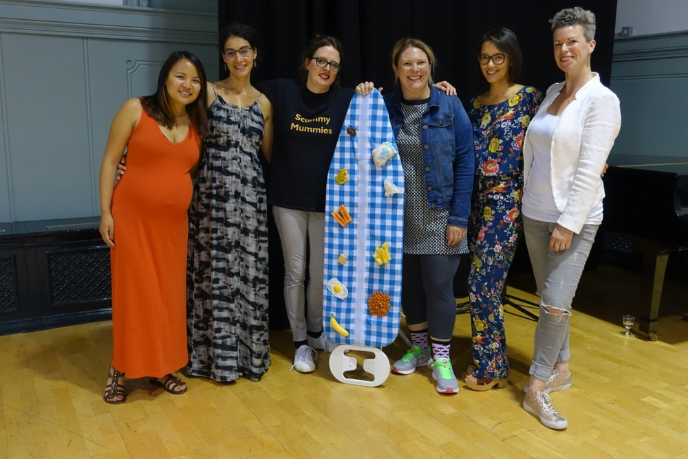 Hampstead Mums event team with Scummy Mummies
