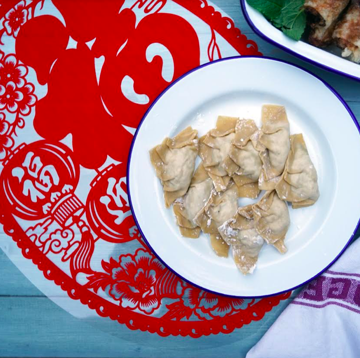 Chinese hong kong dumplings hampstead mums Michelle le goff ginger and parsley