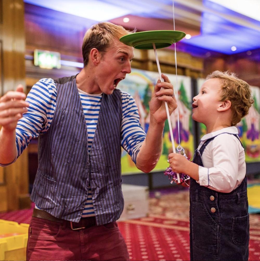 Lucas Jet Parties Acrobatics Circus Entertainer Birthday Hampstead Mums