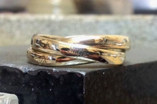 Jewellery engraving Elgin Moray