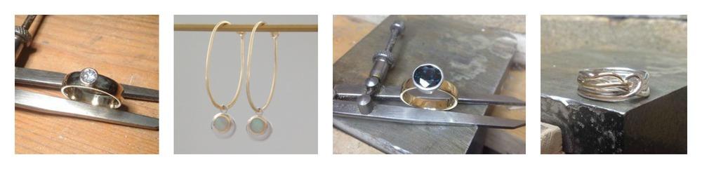 handmade silver gold platinum jewellery Elgin Moray