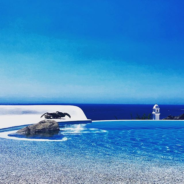 Notsobad!#mykonos#blue#blue#blue 🇬🇷