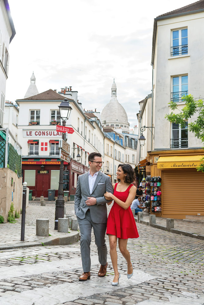 Paris-photographer-Paris-for-Two-Christian-Perona-engagement-love-pre-wedding-proposal-best-Montmartre-Sacre-Coeur-cobblestone-street-red-dress.jpg