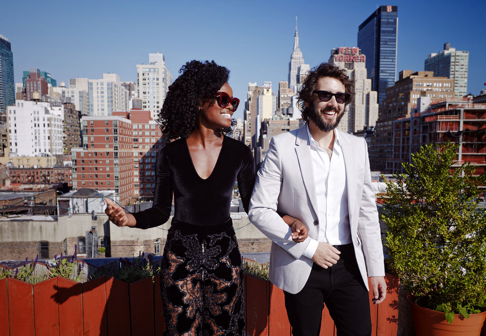 © James Weber - Josh Groban and Denee Benton