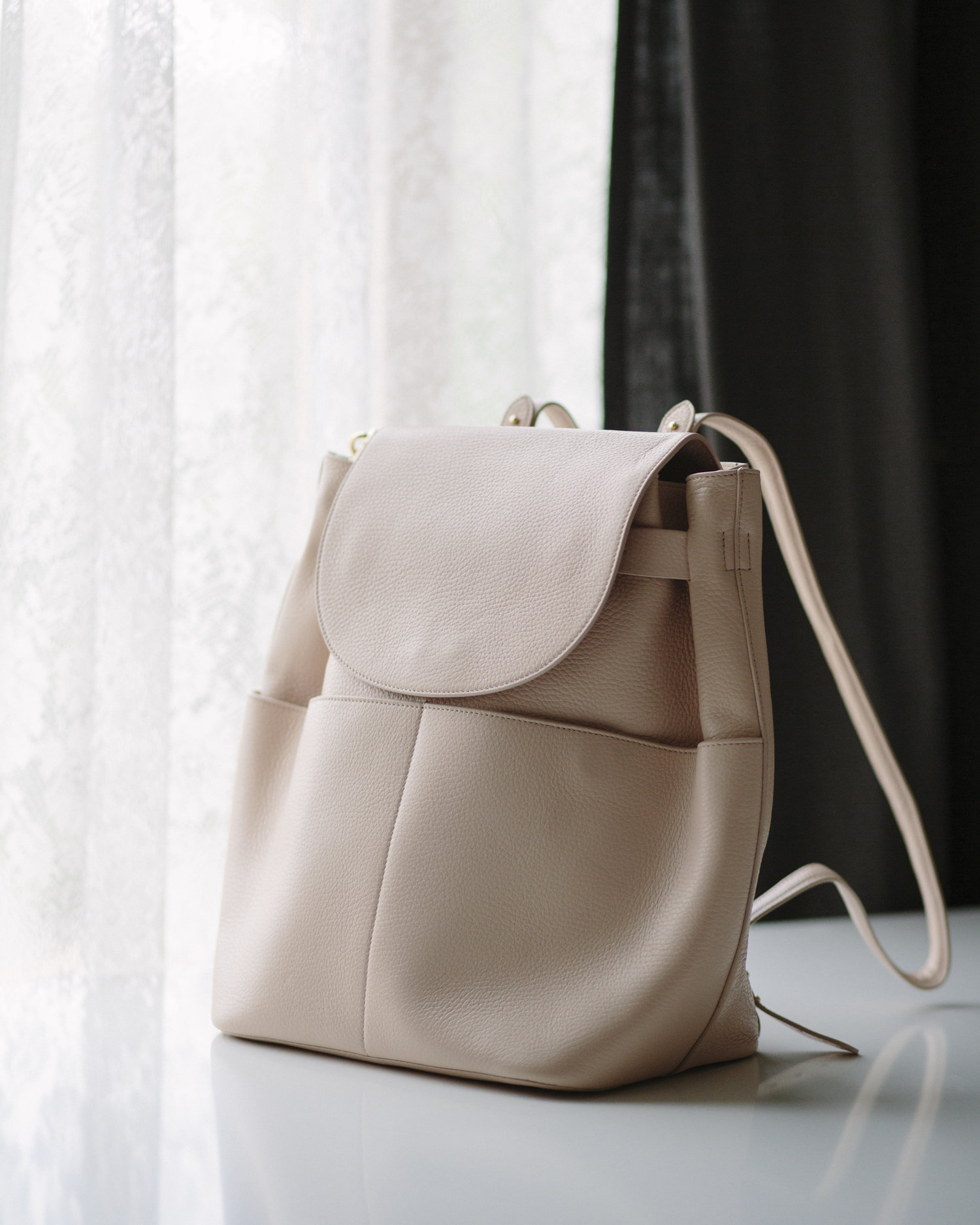 1826c2f6a8 The Leather Backpack by Cuyana — kim kimberlin