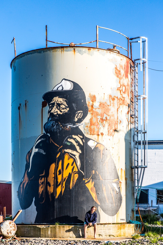 Street art at Henningsvaer.