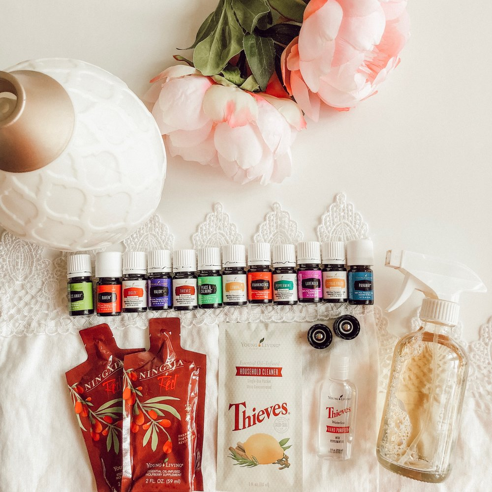 receive $25 back! - This beautiful kit is $165, with my referral, you are eligible for $25 back! It is perfect for getting started! When you join, Casey will add you to our exclusive community online where you'll receive support, education, and so much more! Casey will also send you happy mail with a beautiful guide on all things natural wellness and essential oils, the safety, how-to's, recipes for diffusing and wellness, and so much more!