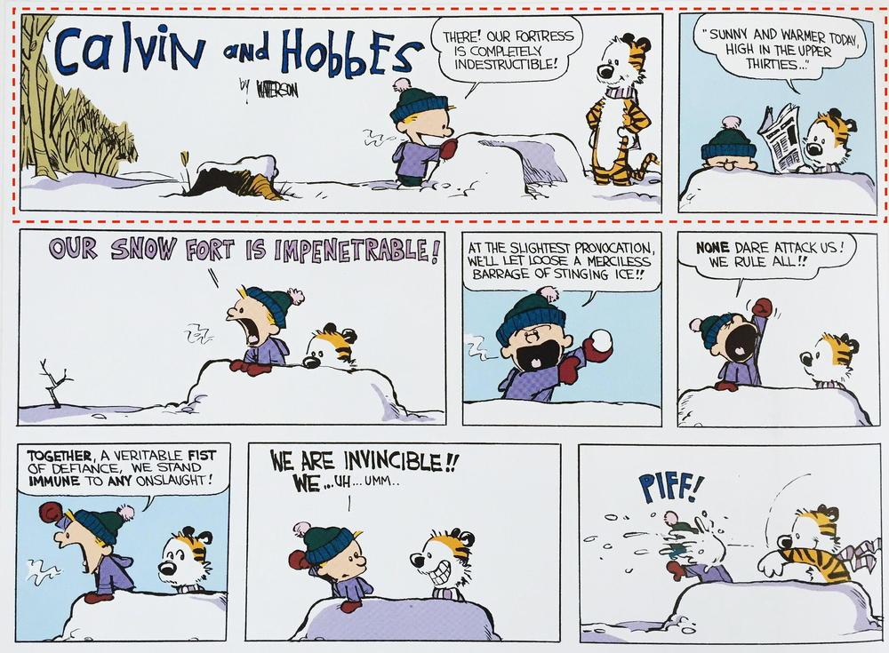 Calvin & Hobbes, Bill Watterson (1985)