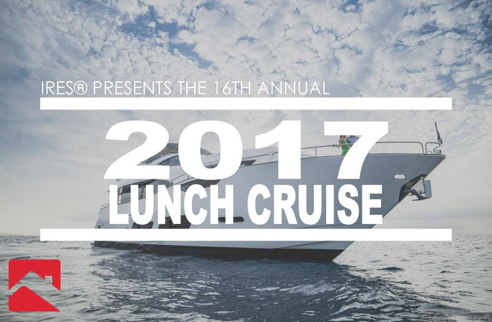 9/29 @ 11:00am IRES Sales Meeting and Boat Cruise - Join IRES as we help you create a 90 day end of year plan so you can finish strong and not hit a end of year slow down. Also for those hard working IRES agents, we will be headed to Newport of our annual boat cruise.