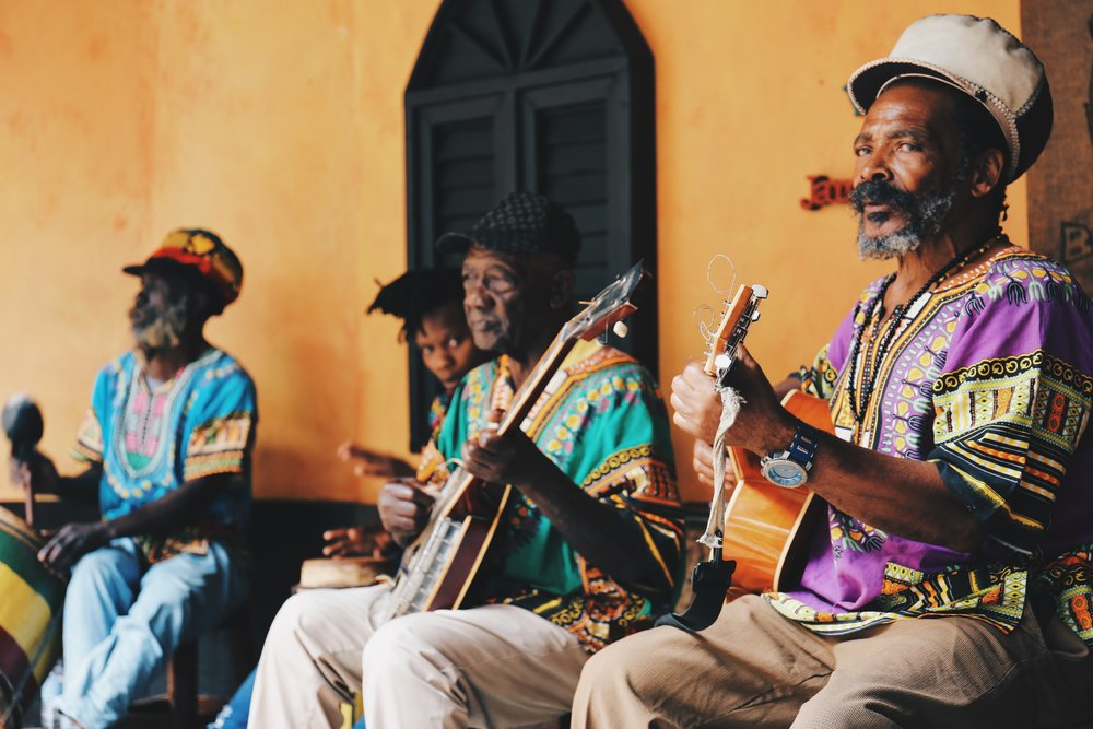 Band at 9 Mile, Jamaica