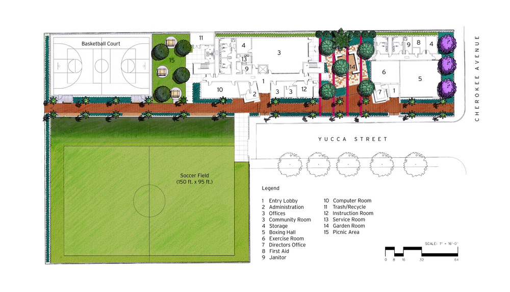 Yucca Park Youth & Community Center Master Plan