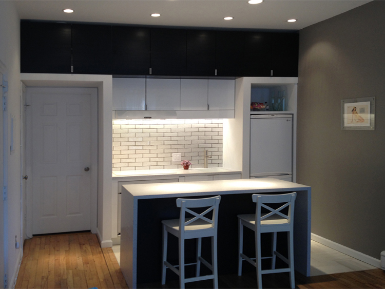 Small Kitchen Renovation — NYC Residential and Commercial Renovation ...